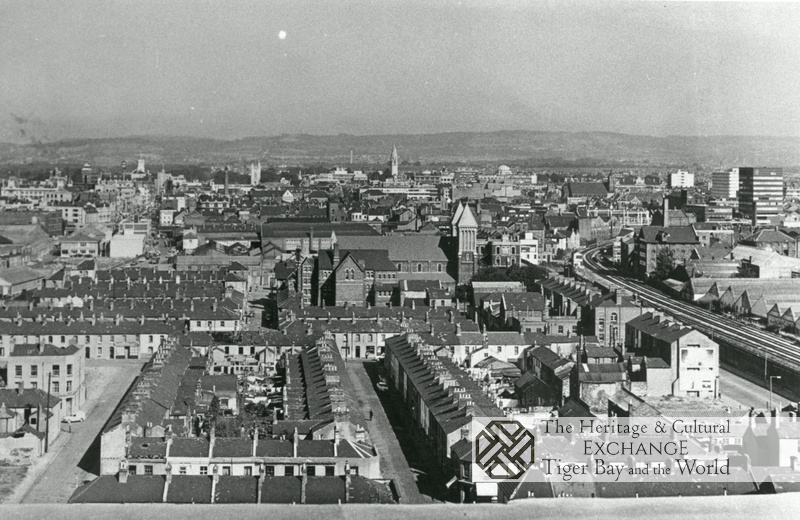 Aerial View of Butetown