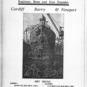 Advert for C H Bailey