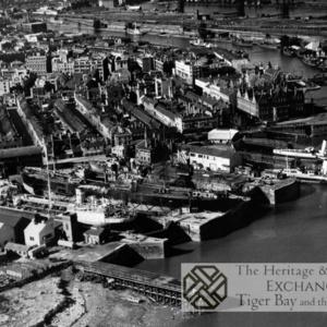 Aerial Photo of Mount Stuart Dry Docks