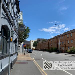 Photo  of James Street including Mischiefs Cafe/Bar