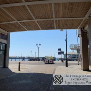 Photo of Bute Street at Mermaid Quay looking toward Pierhead