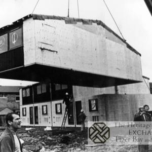 Photo of housing beig built