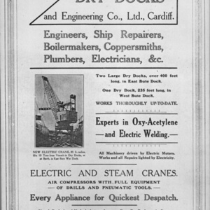 Advert for Hill's Dry Dock